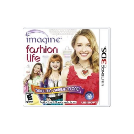 Imagine Fashion Life (Sem Capa) - Usado - 3DS
