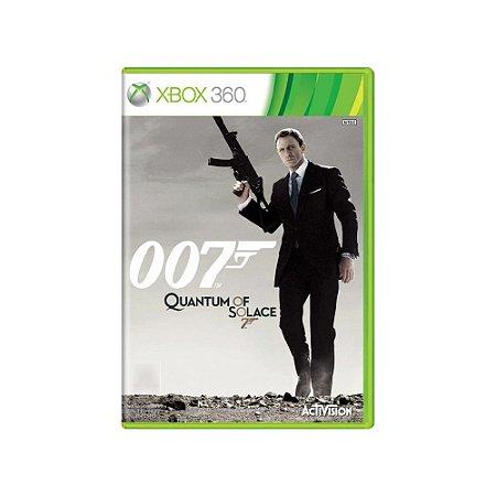 007 Quantum of Solace - Usado - Xbox 360