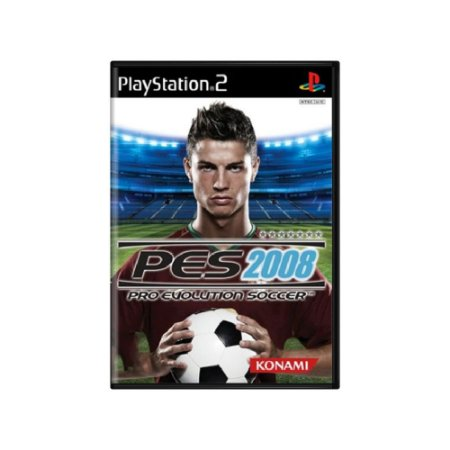 Pro Evolution Soccer 2008 (PES 08) - Usado - PS2