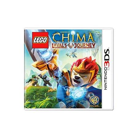 LEGO Legends of Chima Laval's Journey - Usado - 3DS