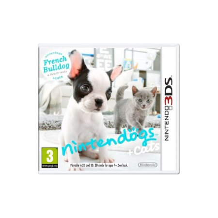 Nintendogs + Cats French Bulldog & New Friends - Usado - 3DS