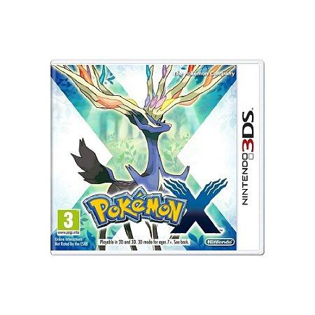 Pokémon X (Sem Capa) - Usado - 3DS