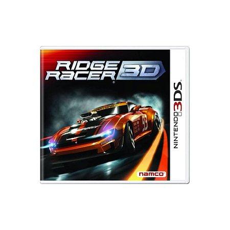 Ridge Racer 3D - Usado - 3DS