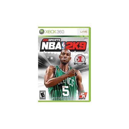 NBA 2K9 - Usado - Xbox 360