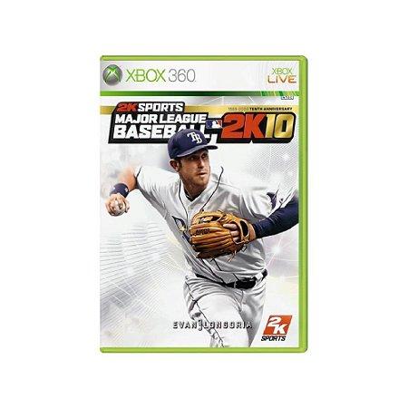 Major League Baseball 2K10 - Usado - Xbox 360