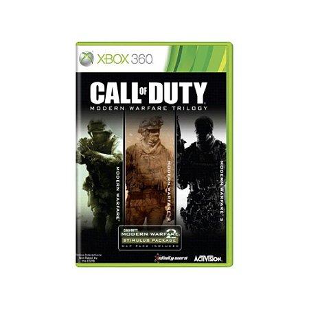 Call Of Duty Modern Warfare Trilogy - Usado - Xbox 360