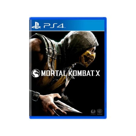 Mortal Kombat X - Usado - PS4