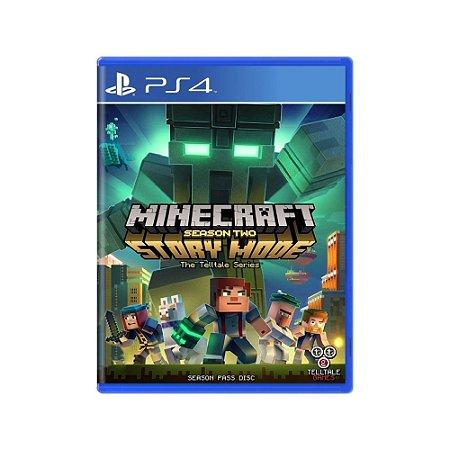 Minecraft Story Mode (Season Two) - Usado - PS4