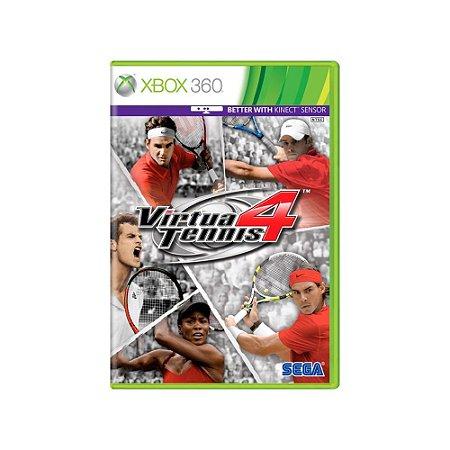 Virtua Tennis 4 - Usado - Xbox 360