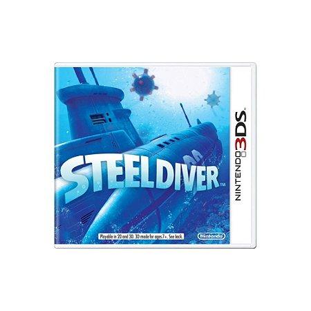 Steel Diver (Sem Capa) - Usado - 3DS