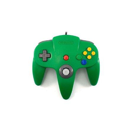 Controle Nintendo 64 Verde - Usado - Nintendo