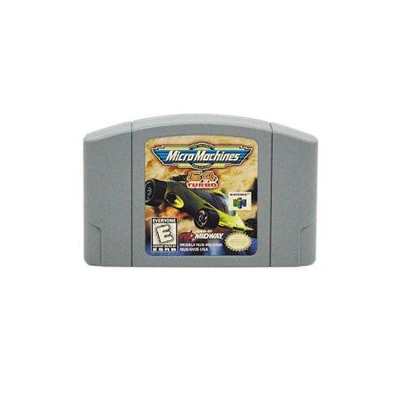 Micro Machines 64 Turbo - Usado - N64