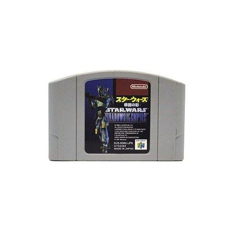 Star Wars Shadows of the Empire - Usado - N64
