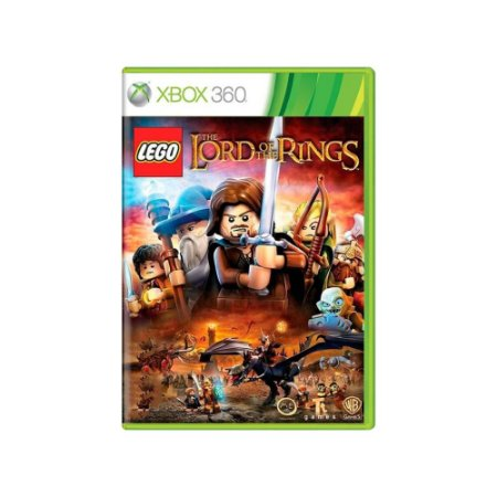 LEGO The Lord of The Rings - Usado - Xbox 360