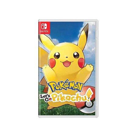 Pokémon Let's Go Pikachu! - Usado - Switch