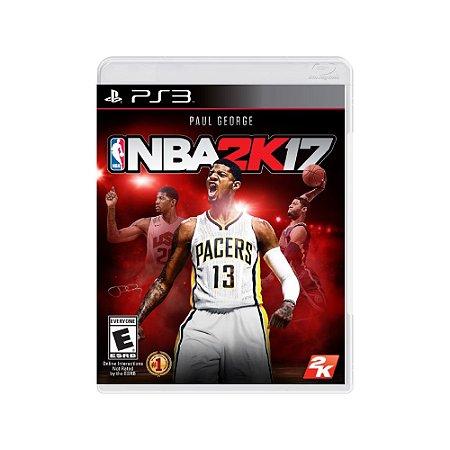 NBA 2K17 - Usado - PS3