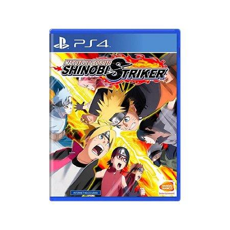 Naruto to Boruto Shinobi Striker - Usado - PS4