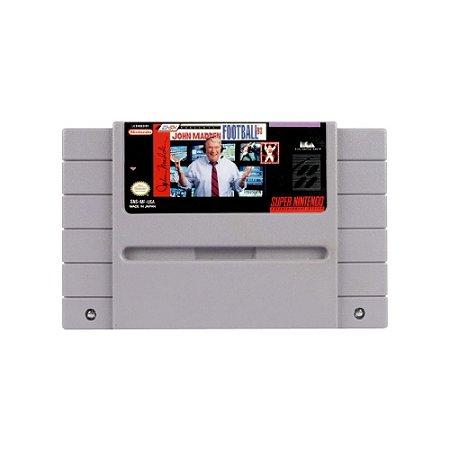John Madden Football '93 - Usado - SNES