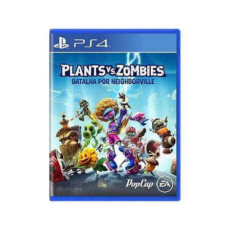Plants vs. Zombies Batalha por Neighborville - Usado - PS4