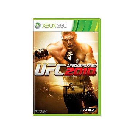 UFC 2010 Undisputed - Usado - Xbox 360