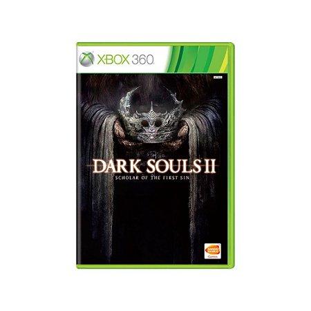 Dark Souls II Scholar of the First Sin - Usado - Xbox 360