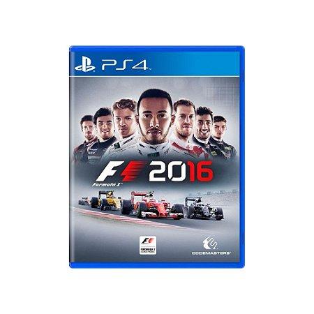 F1 2016 - Usado - PS4