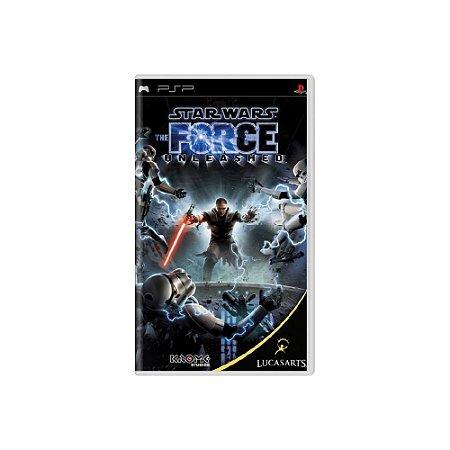 Star Wars The Force Unleashed - Usado - PSP