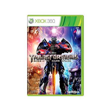 Transformers Rise of The Dark Spark - Usado - Xbox 360