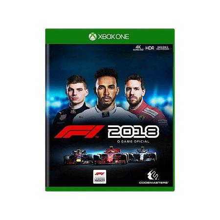 F1 2018 - Usado - Xbox One