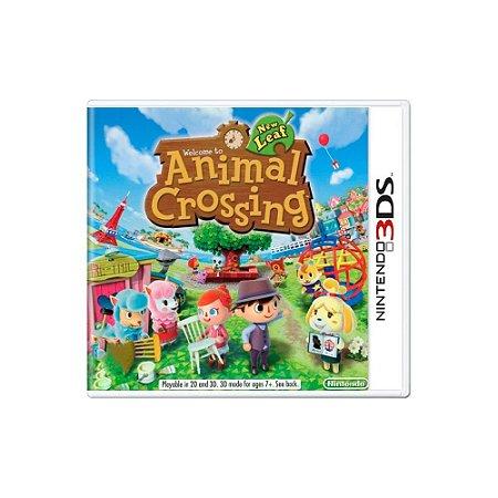 Animal Crossing New Leaf - Usado - 3DS
