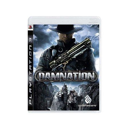 Damnation - Usado - PS3