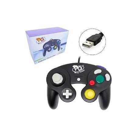 Controle GameCube USB Preto - PG