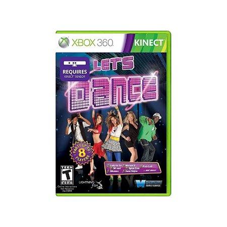 Let's Dance - Usado - Xbox 360