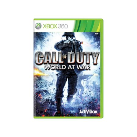 Call of Duty World at War - Usado - Xbox 360