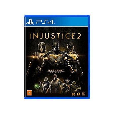 Injustice 2 (Legendary Edition) - Usado - PS4