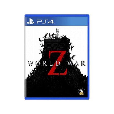 World War Z - Usado - PS4