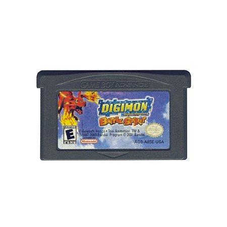 Digimon Battle Spirit - Usado - GBA