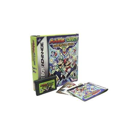 Mario & Luigi Superstar Saga - Usado - GBA