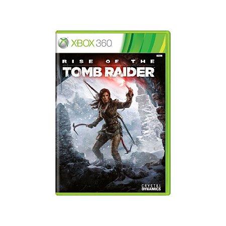 Rise of The Tomb Raider - Usado - Xbox 360