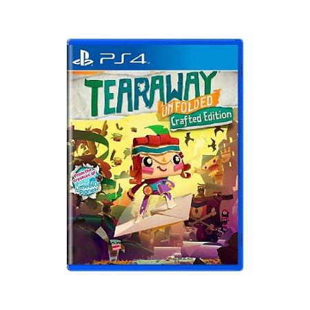 Tearaway Unfolded (Edição Crafted) - Usado - PS4