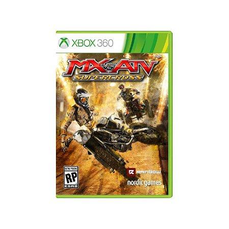 MX vs. ATV SuperCross - Usado - Xbox 360