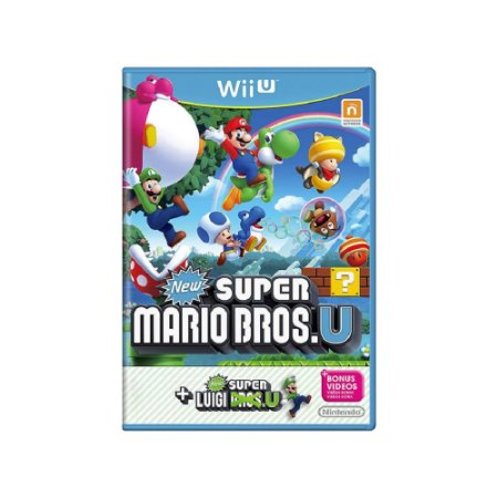 New Super Mario Bros. U + New Super Luigi U - Usado - Wii U