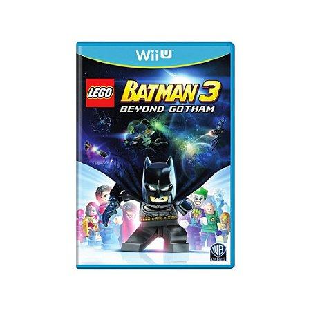 LEGO Batman 3 Beyond Gotham - Usado - Wii U