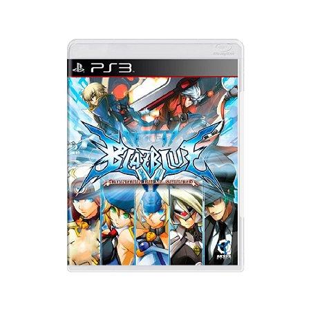 BlazBlue Continuum Shift - Usado - PS3