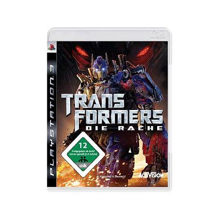 Transformers Die Rache (Europeu) - Usado - PS3