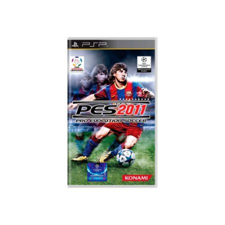 Pro Evolution Soccer 2011 PES 2011 (Sem Capa) - Usado - PSP