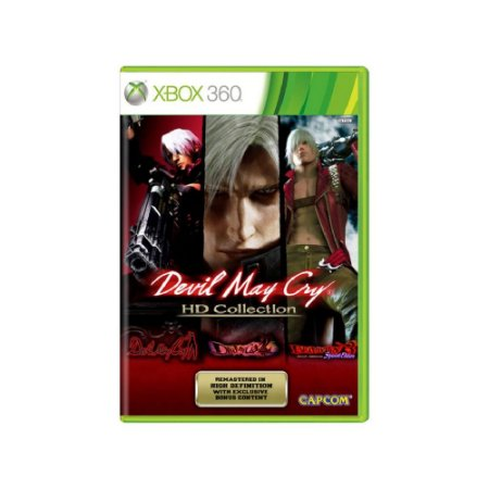 Devil May Cry HD Collection - Usado - Xbox 360
