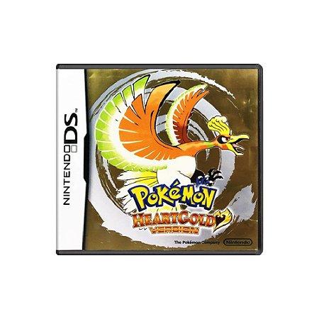 Pokémon HeartGold Version (Sem Capa) - Usado - DS