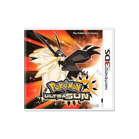 Pokémon Ultra Sun - Usado - 3DS