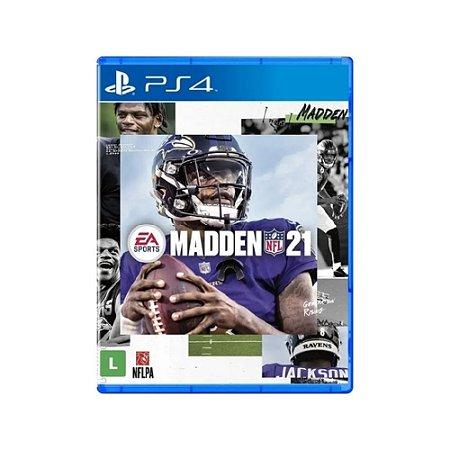 Madden NFL 21 - Usado - PS4